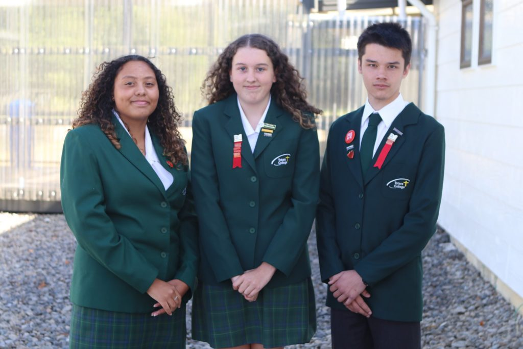 Totara College Students