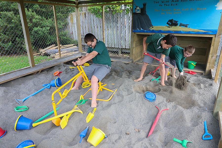 New Sandpit
